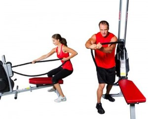 Cardio Machines that Really Work: Endless Rope