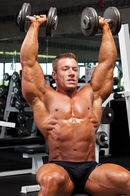 Boulder Shoulders: Shoulder Press
