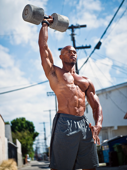 Gain muscle mass by moving with purpose