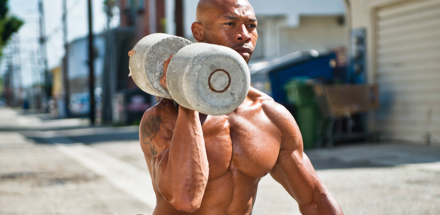 Maximize your intensity to gain muscle mass.