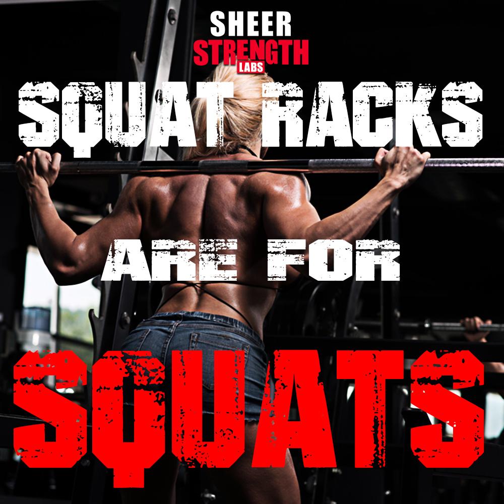 Sheer Gym Etiquette: Squat Racks