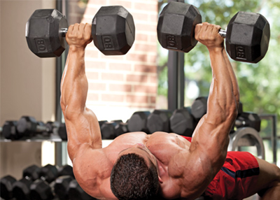 Bench Press Tips, Techniques and Variations: Dumbbell Bench Press