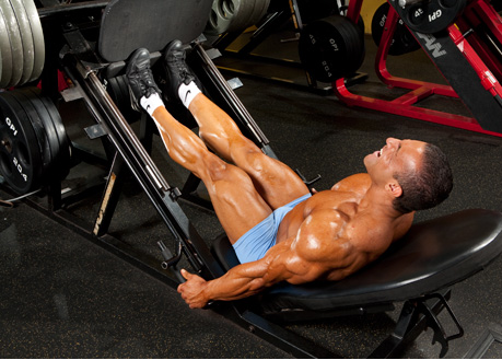 Calf Training Using Leg Press Calf Raise