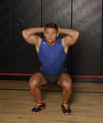 Toughness Test Using Bodyweight Squat