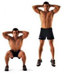 Cardio Exercises to Lose Fats and Build Body: Explosive Jumping Squats
