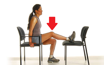 Knee Conditioning Exercises: Chair Knee Extension
