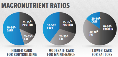 Meal Prep and Proper Nutrition for Bodybuilders: Macronutrient Ratios