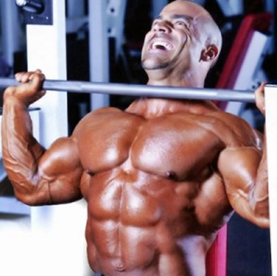 Massive Gains Training Exercises: Shoulder Press