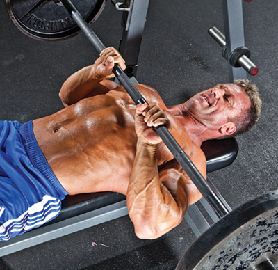 Triceps Training: Close-Grip Bench Press