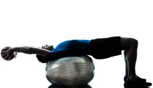 Balance Ball Sit Ups