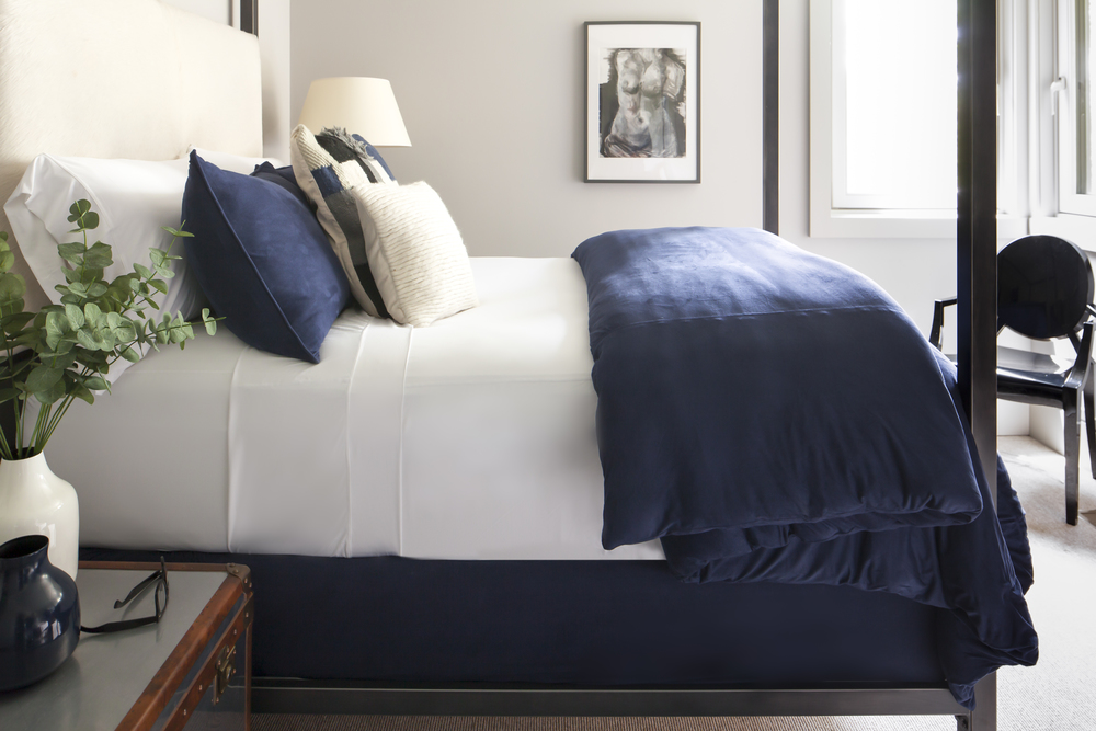 TECHNICAL SUEDE Duvet Cover