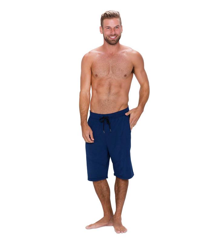 828 men short cobalt blue  front