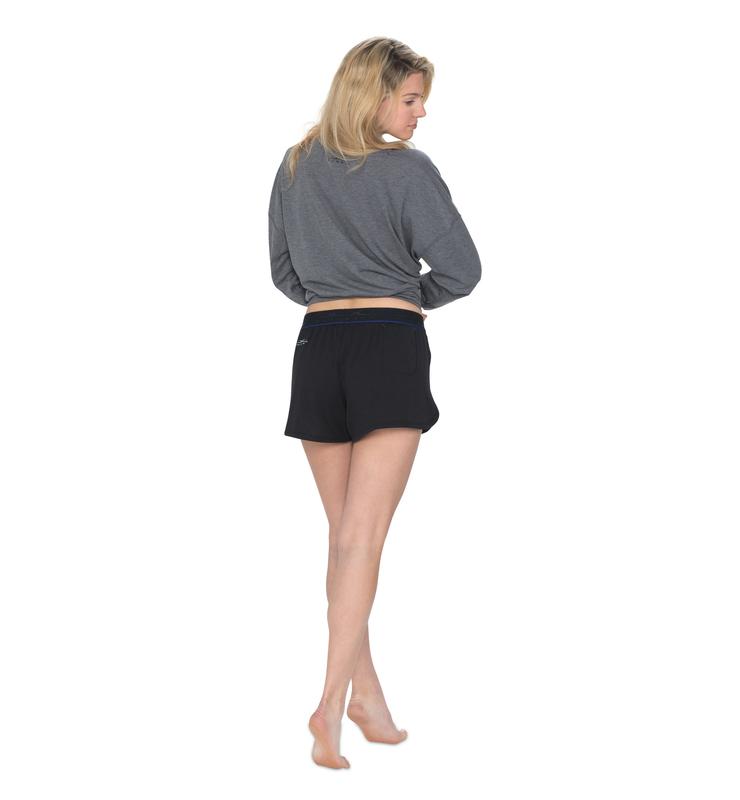 828 women sleepshort black back