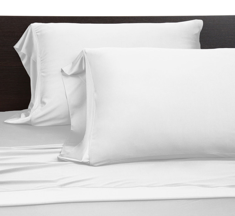 Pillow cases white full