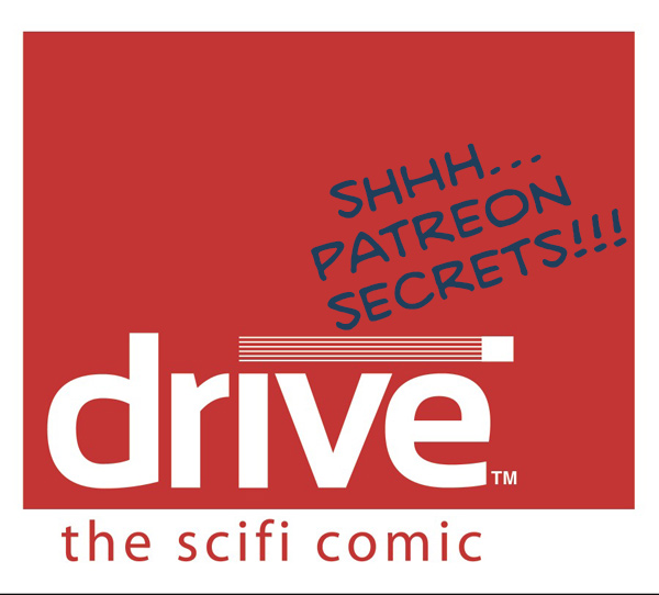 Drive™: The SciFi Comic, by Dave Kellett
