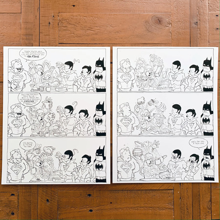 Get Today s Super Friends Original Art!
