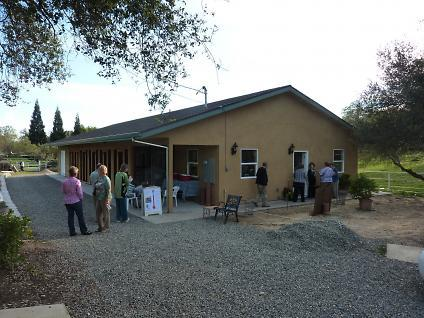 Photo of exterior of shelter