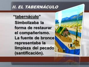 el tabernaculo y la fuente