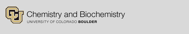 University of Colorado Chemistry & Biochemistry