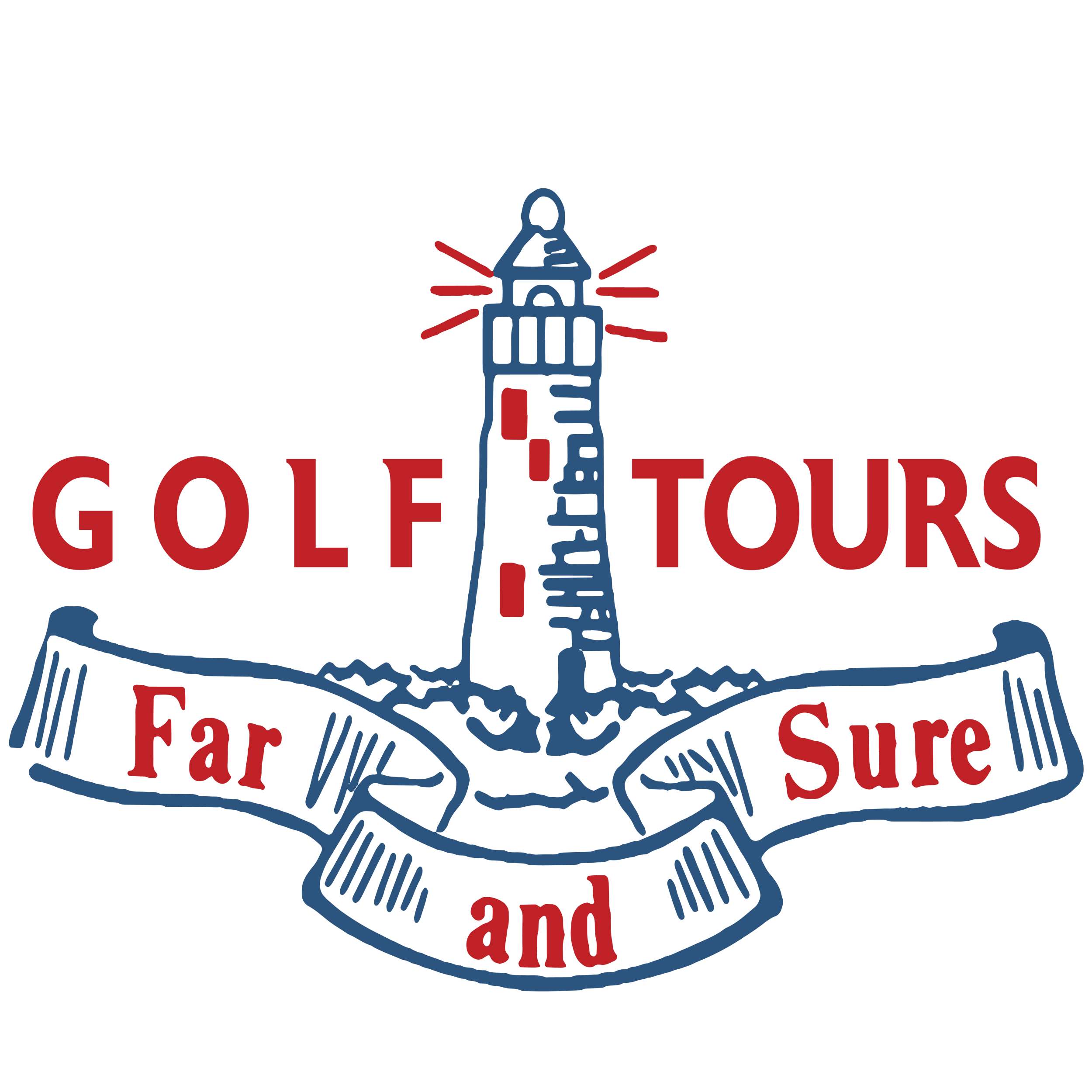 Far and Sure Golf Tours's Logo