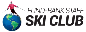 Fund & Bank Staff Ski Club's Logo
