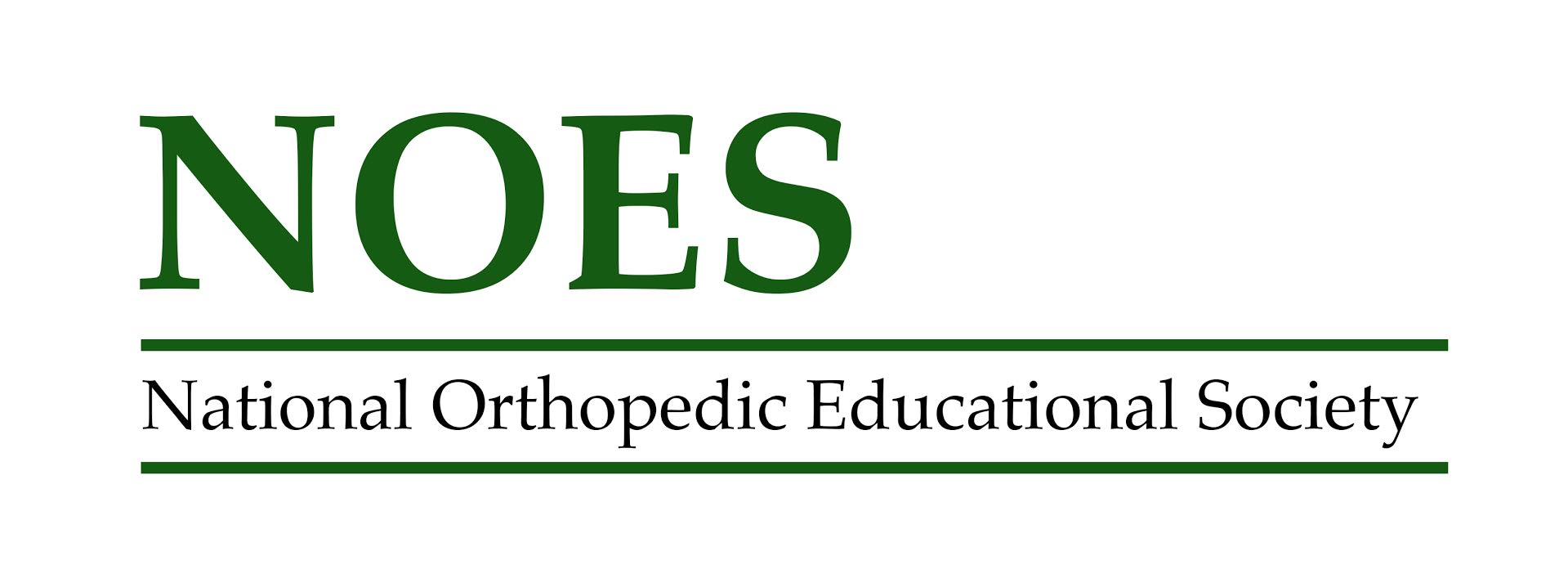 National Orthopedic Educational Society's Logo