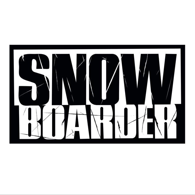 Snowboarder Magazine '19's Logo