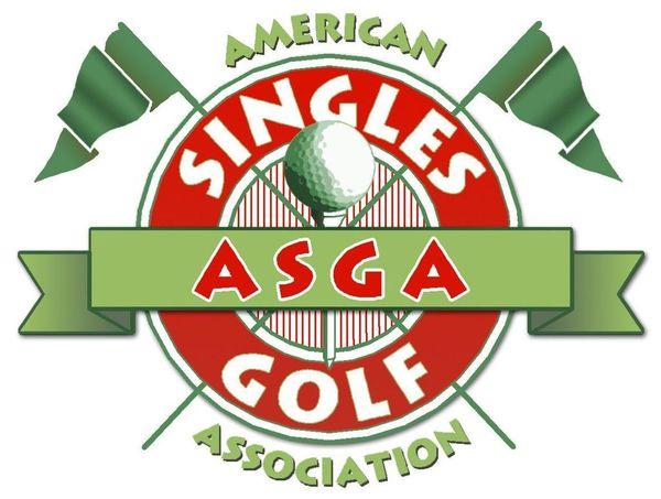 American Singles Golf Association's Logo