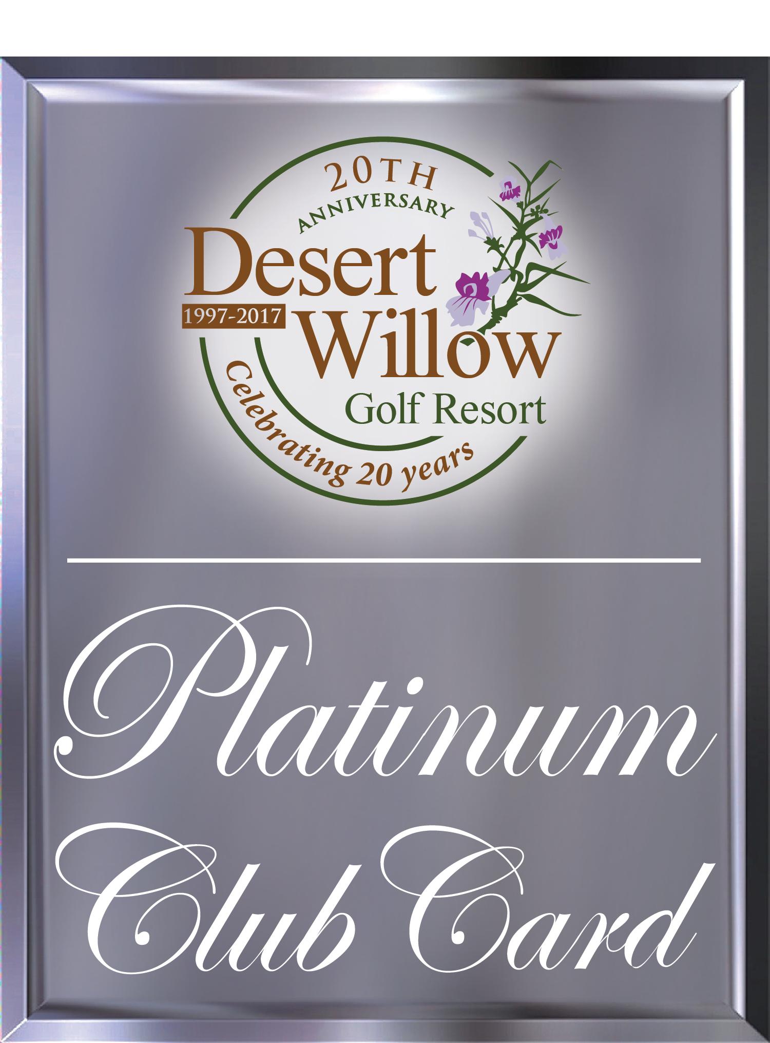 Desert Willow Platinum Club Cardholders's Logo