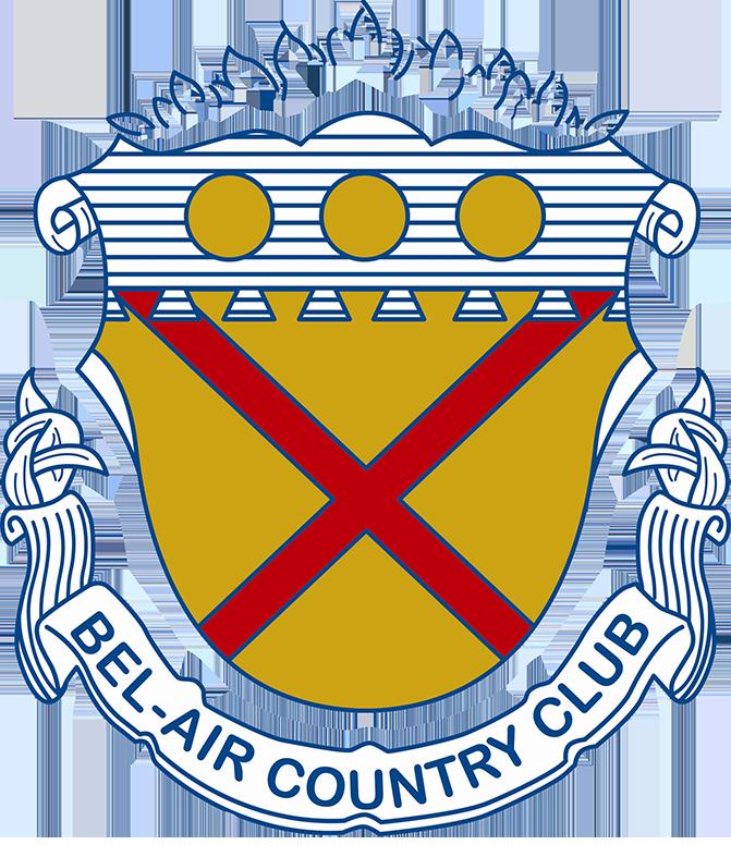 2019 Bel-Air Country Club Member Guest's Logo