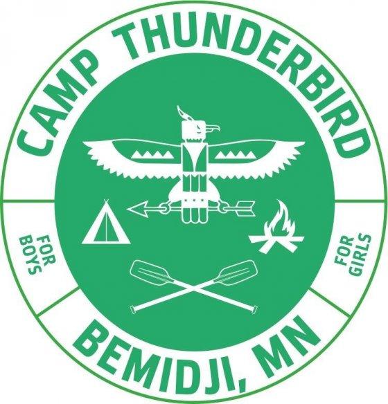 Camp Thunderbird For Girls's Logo