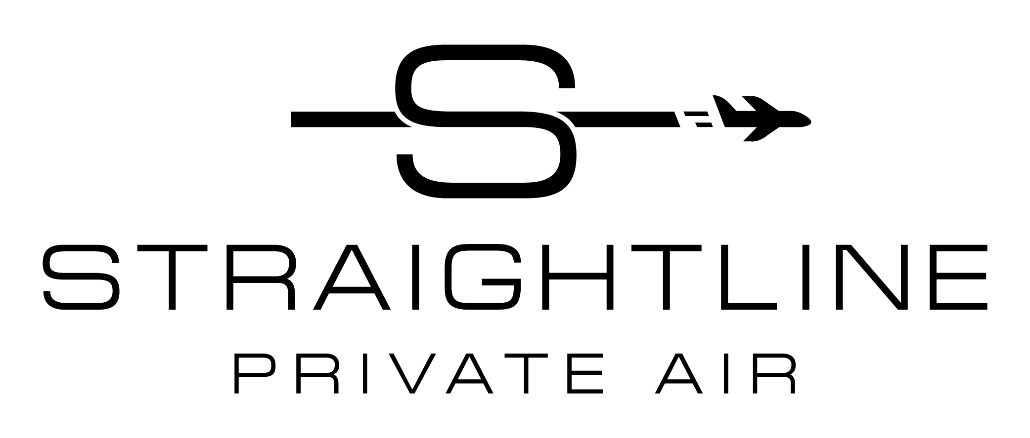 Straightline Private Air's Logo