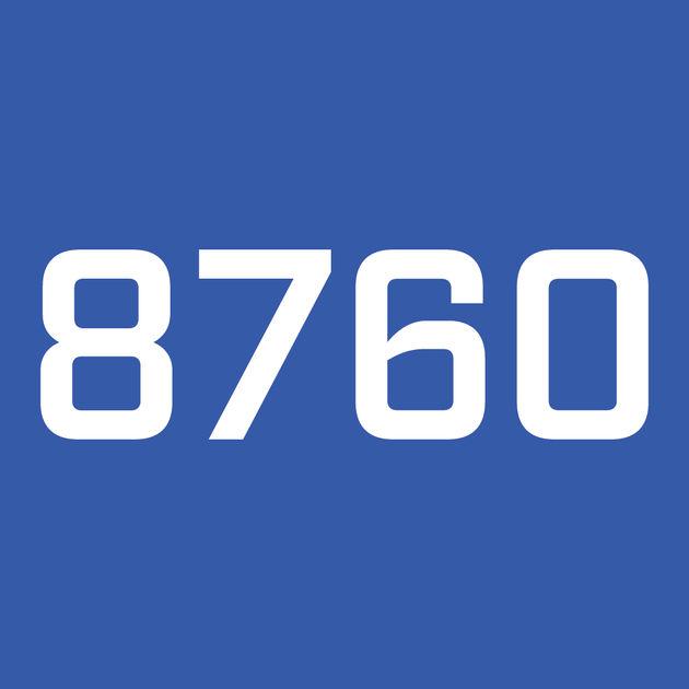 8760's Logo