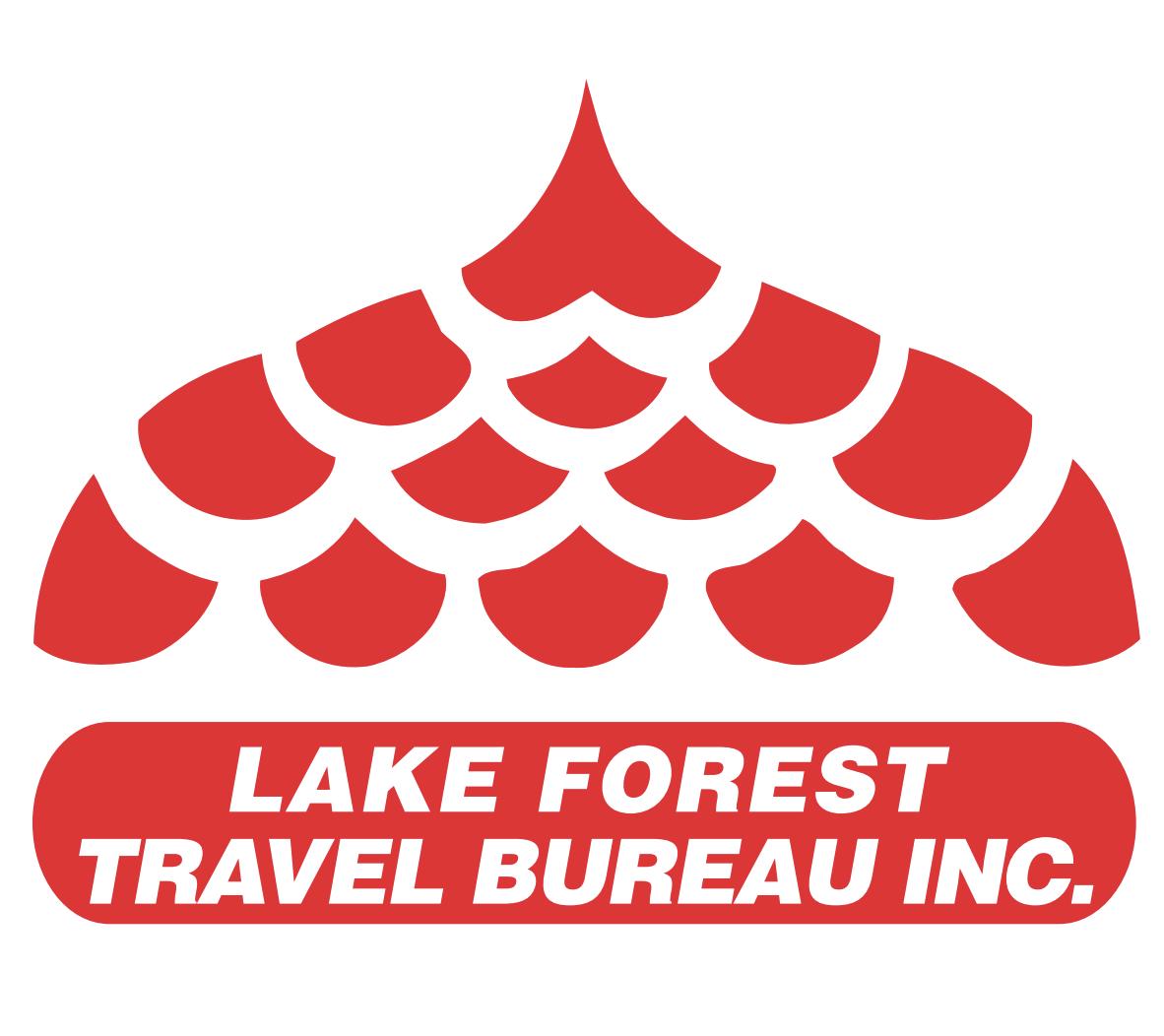 Lake Forest Travel Bureau's Logo
