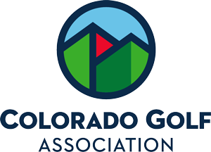 Colorado Golf Association Ski Test '20's Logo