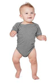 Bella + Canvas 134B Infant Triblend Short-Sleeve One-Piece