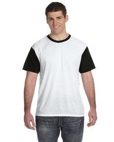 Sublivie S1902 Men's Blackout Sublimation T-Shirt