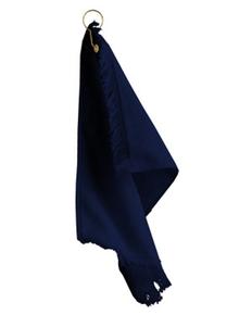 Towels Plus T60GH FringedFingertip Towel with Corner Grommet and Hook