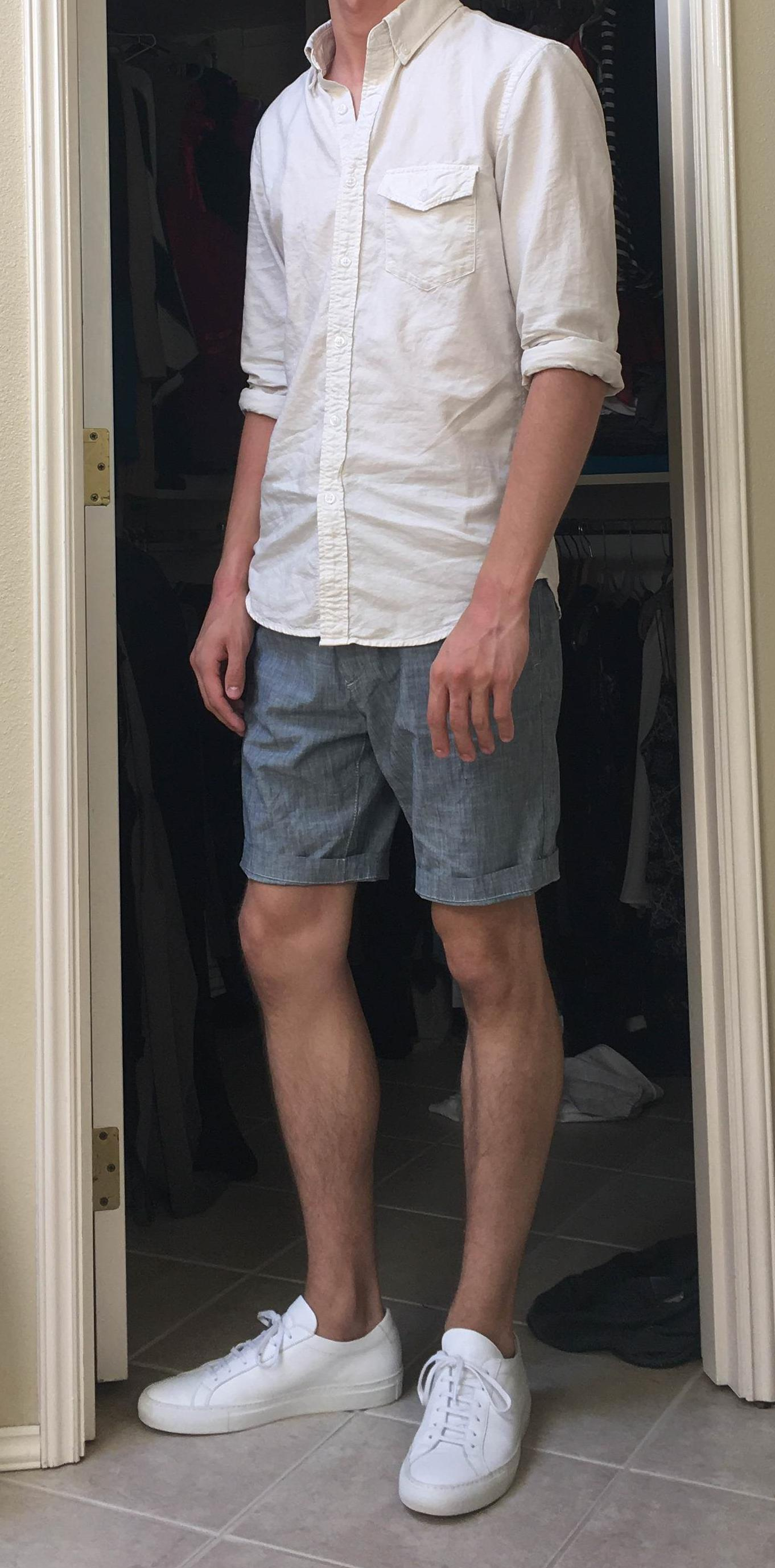 Oxford Button Down With Shorts