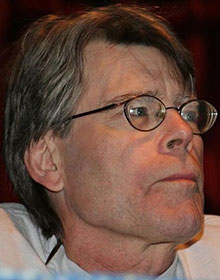 Photo of Stephen King by Pinguino