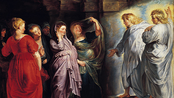 The Holy Women at the Sepulchre, by Peter Paul Rubens