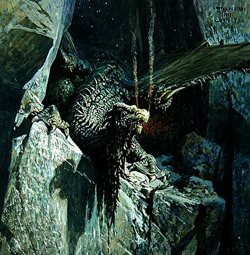 georg_janny_-_the_dragons_cave_1917-500x511