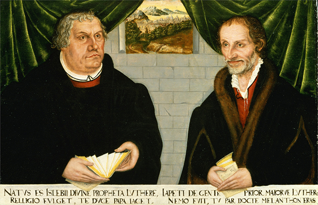 Portrait of Martin Luther and Philip Melanchthon