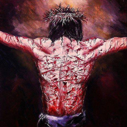 Jesus scourged