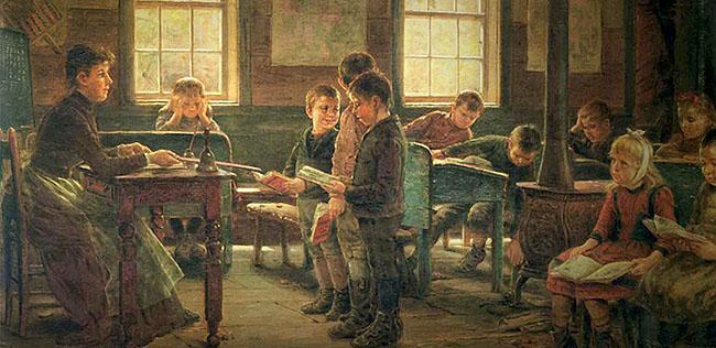 19th century schoolhouse