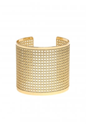 NET SURFACE CUFF BRACELET