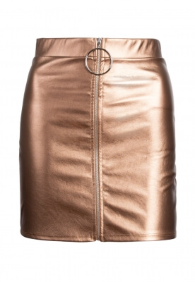 XANADU METALLIC MINI SKIRT