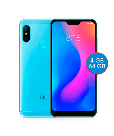 Xiaomi Redmi Note 6 Pro 64 GB, 4 GB RAM, Dual SIM 4G - Certified Refurbished with 1 Year Warranty and GST Invoice, Colour as per availability