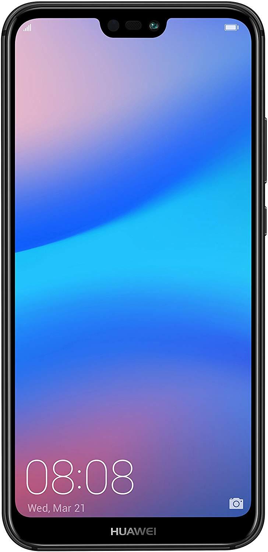 Huawei P20 Lite (Black, 4GB RAM, 64GB Storage) - Certified Refurbished with 1 Year Warranty