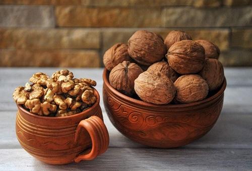 Premium Quality Kashmiri Walnut With Shell, Kagazi Akhrot, 1 Kg